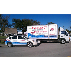 Fleet wrap designed by Custom Graphics and Signs, Florida USA
