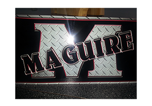 Custom license plate by Custom Graphics and Signs