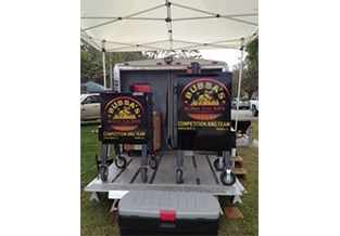 Smoker decal designed by Custom Graphics and Signs