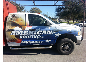 Truck Wrap designed by Custom Graphics and Signs