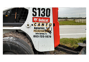 Equipment decal by Custom Graphics and Signs