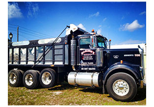 Truck wrap, designed by Custom Graphics and Signs, Florida